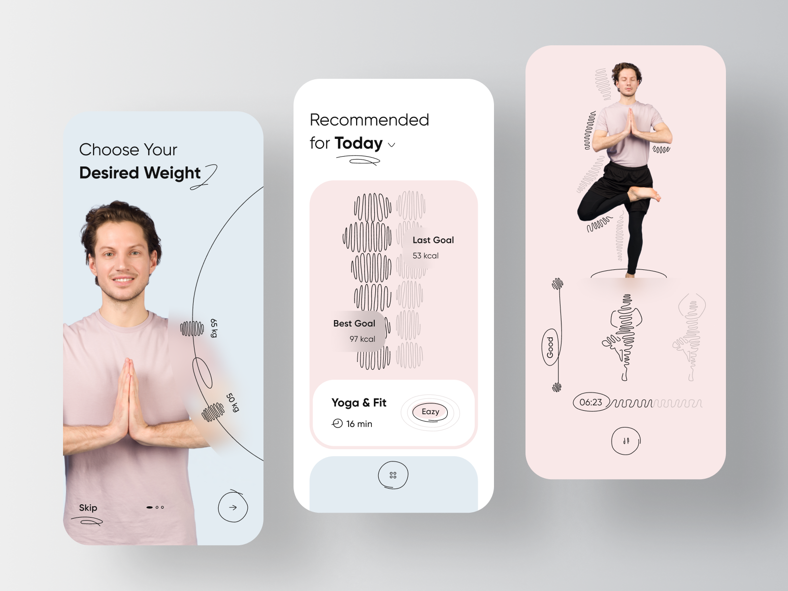 Yoga & Workout Personal Trainer App