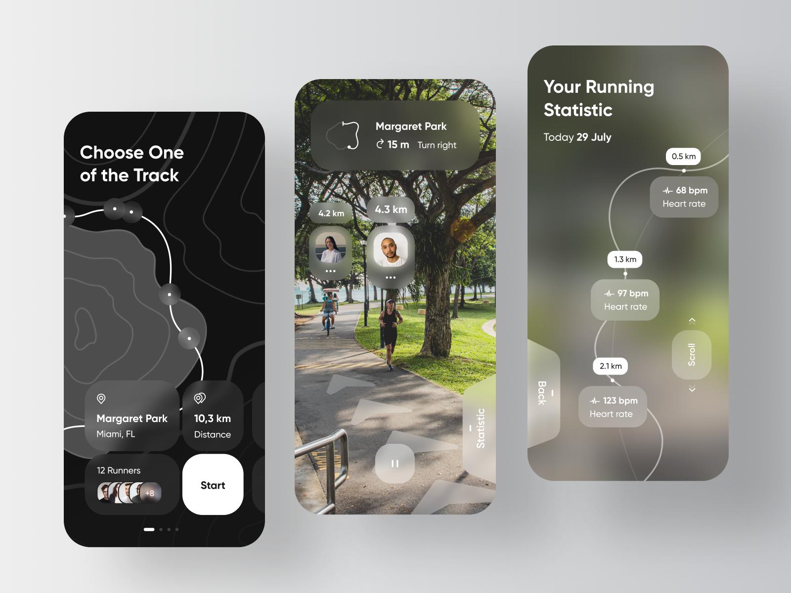 Fitness App - Running Tracker