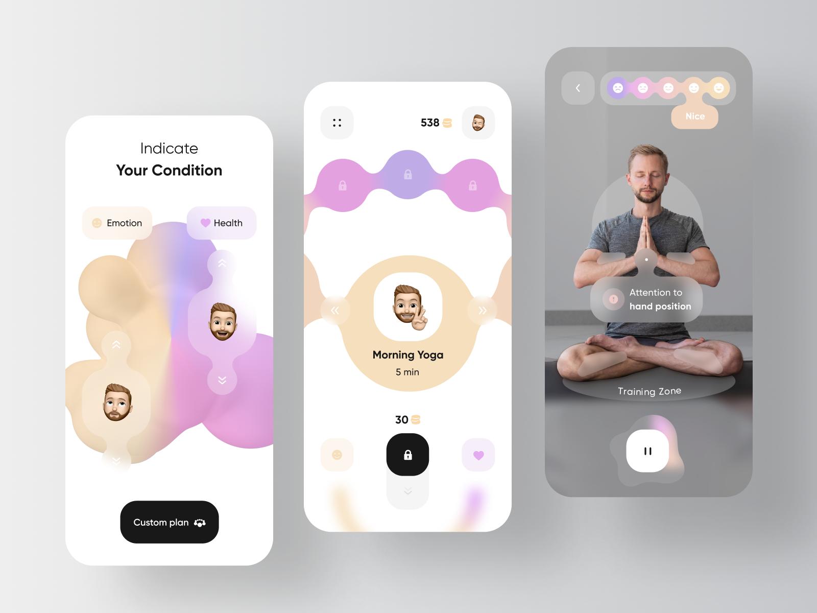 Yoga & Workout Application