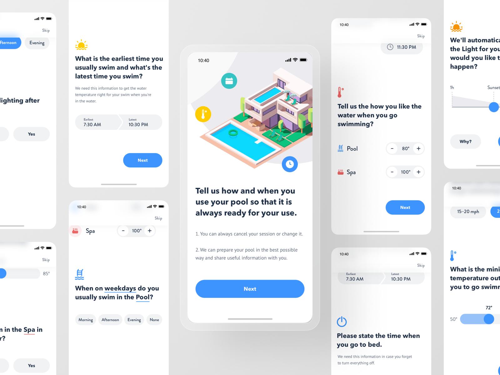 Smart Pool App - First Meet Interview