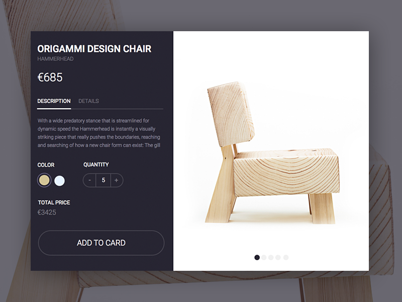 eCommerce Product Card ui ux rondesign rebound