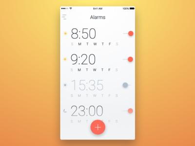 7th Week (Monday) - Alarm