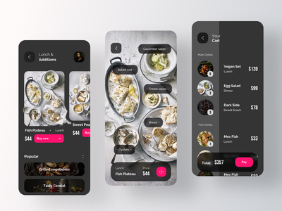 Food Delivery Application grocery app grocery service app service rent ecommerce tracking recipe shopping payment order delivery service dish rondesign delivery delivery app food app food