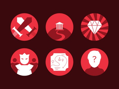 ForPlayers Icons forplayers gaming esports icons minimal flat