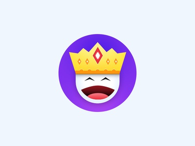 The King king icon badge forplayers crown emoji