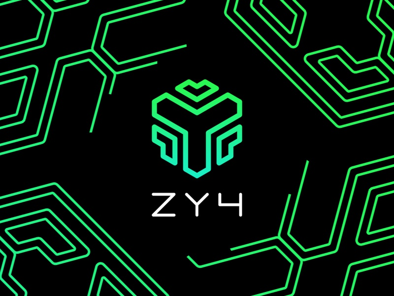 ZY4 encrypt encryption hacking hack brand cyber security zy4 branding