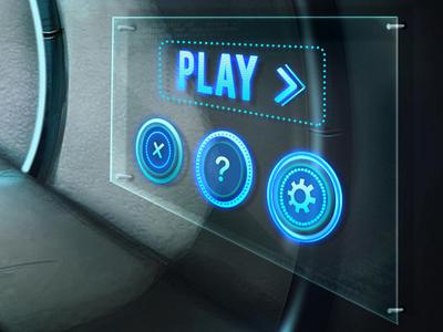 Mindlab Game Scifi Navigation :) mindlab navigation scifi menu wow glowing digital touch game inkod hypera settings