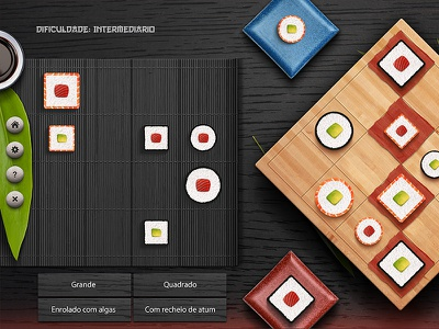 Sushidashboard sushi sumo game app japan sunrise tablet educational school leaf soya gameboard