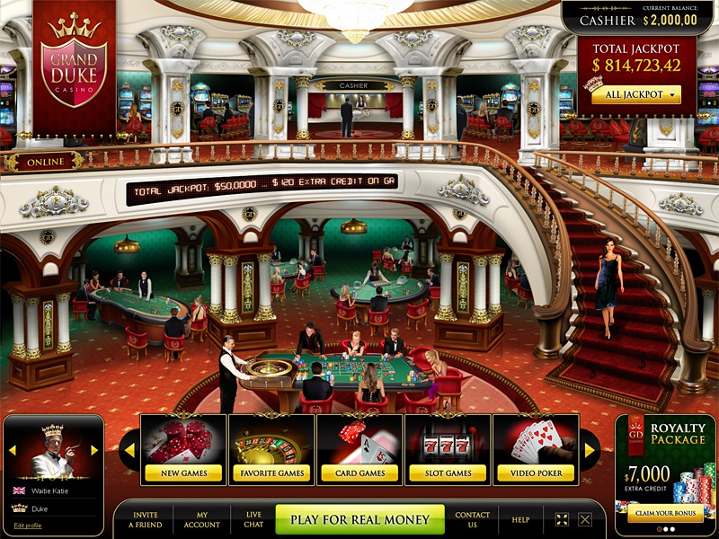 Club Gold Casino Lobby