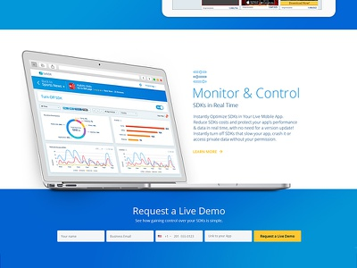 SafeDK.com  |  Welcome to the new website corporate website landing page inkod transparency marketplace homepage control monitor platform sdk safedk