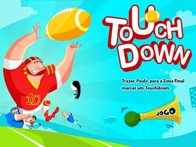 Touch Down Game for Samsung Tablets :) game sport soccer football rugdby tablet app samsung android ilan dray eran mendel jogo jouer play fun entertainment school brazil mindlab inkod ux gui design mobile american great