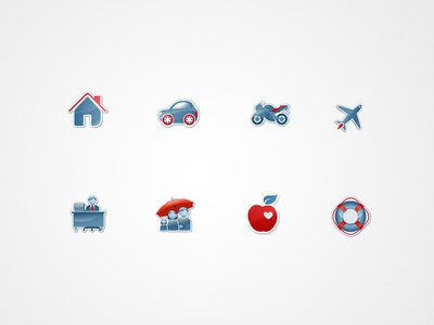 Icons for Leading Online Insurance Company :)