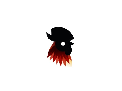 Rooster logodesign icon logo animal rooster