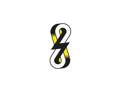 Abstract vector bolt lightning infinity abstract 22