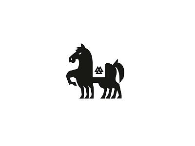 Sleipnir mythology norse horse logo icon sleipnir