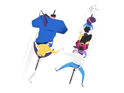 Bring Friends discount friends bring tandem bike illustration newsletter ad together free one get