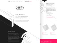 Parity Tech Layout