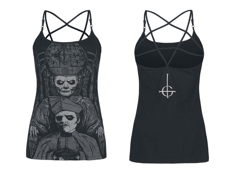 EMP metal band clothing tshirt merch ghost bc ghost design art drawing