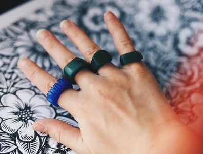 Rings design carving wax jewellery rings