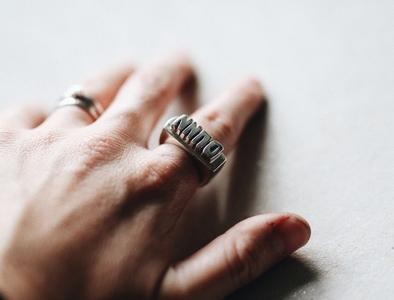 Cast By Night handmade design art jewelery jewellery ring