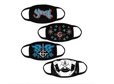 Ghost Masks mask design band ghost