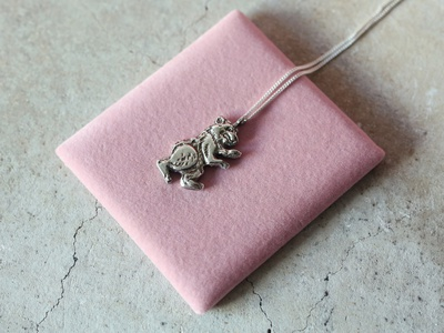 Cast By Night jewelry pink photography design handmade art nature bear silver jewellery