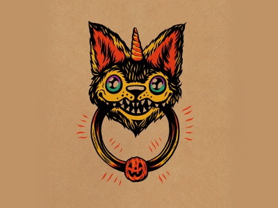 WEENZINE EIGHT design cute halloween spooky drawing illustration