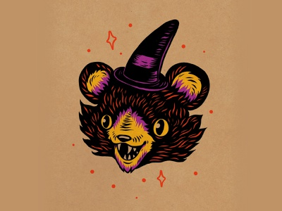 WEENZINE EIGHT spoopy spooky cute halloween design art drawing illustration