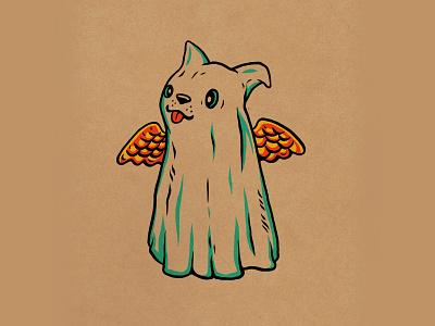 WEENZINE EIGHT design character spooky dog cute halloween drawing illustration