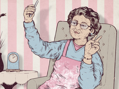 Buzzfeed - Give you Nan a Smartphone