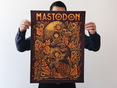 Mastodon drawing art mastodon poster ink pen illustration
