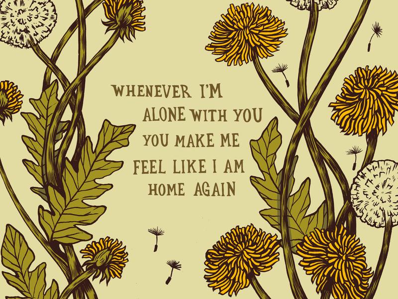 Home designs lovesong the cure lyrics design art floral drawing illustration