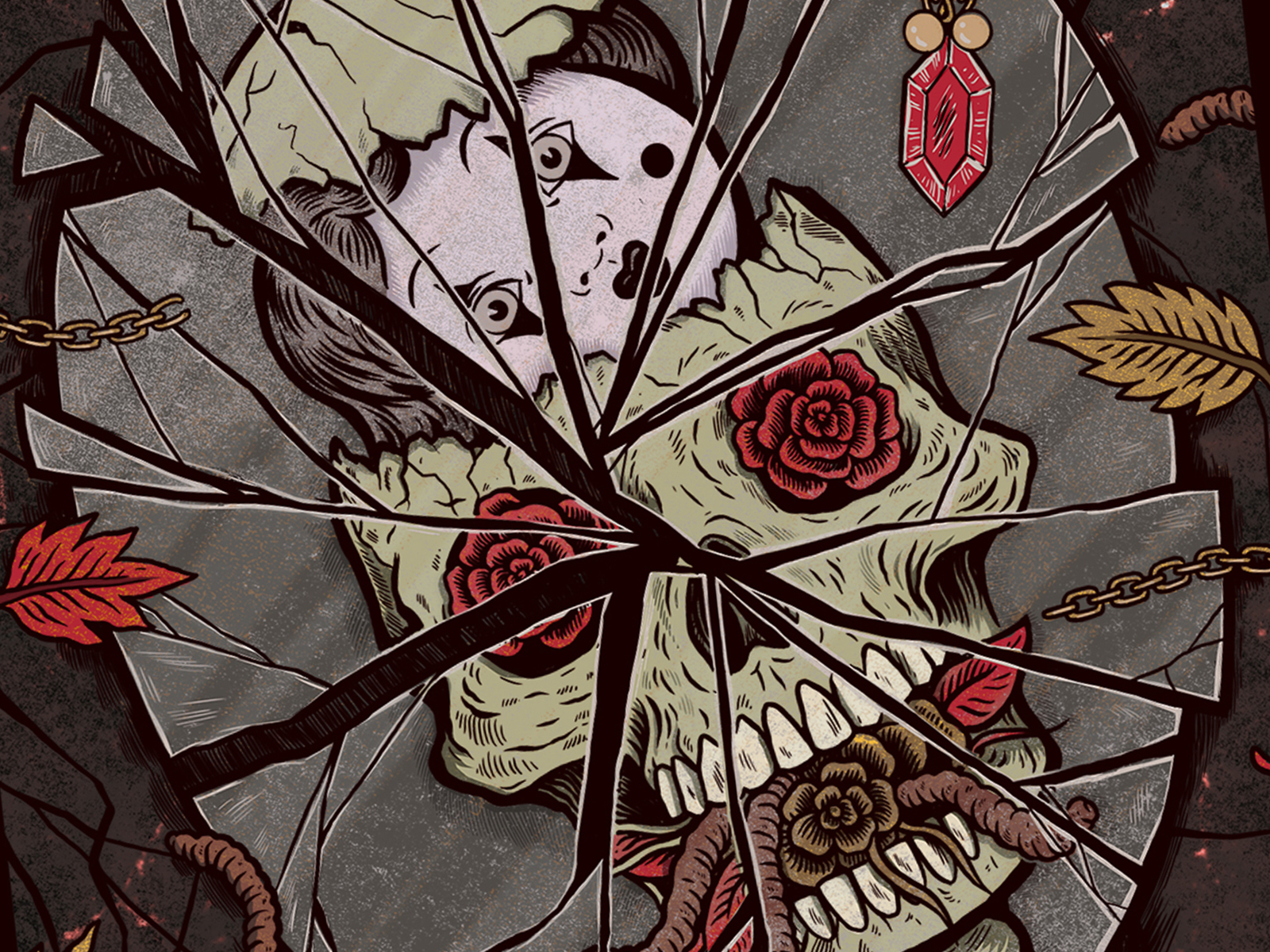Kerrang Korn Art Print By Sam Dunn On Dribbble