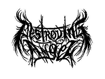 Metal or Mushroom? logotype fun logos nature logo nature mushroom thrash metal death metal metal art logo
