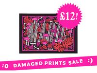 Damaged Prints Sale