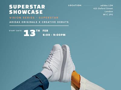 Superstar Showcase hype design drawing adidas custom shoes illustration