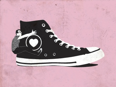 I Love My Converse by Barry Smith | Dribbble | Dribbble