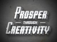 Prosper Through Creativity