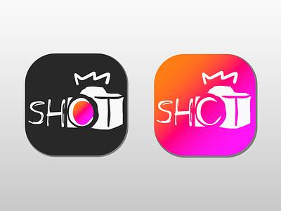 SHOT negativespacelogo negativespace photography app logo