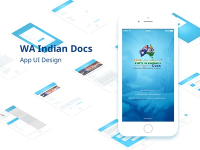WA Indian App UI Design