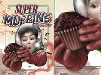 Super Muffins Fake Packaging