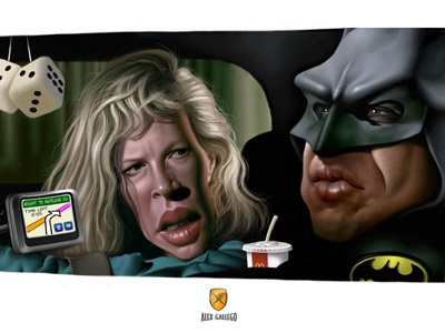 Batman 1989 - Final artwork by Alex Gallego