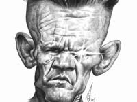Josh Brolin Cable caricature