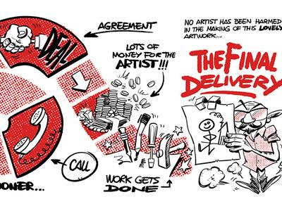 The Hiring Game illustration art ink humour business cards business card design business card businesscard cartooning drawing cartoon illustration illustrator