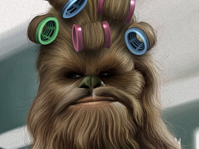 Starwars Chewbacca starwars star wars chewbacca caricature movie parody humour