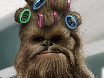Starwars Chewbacca starwars star wars chewbacca caricature movie parody humour