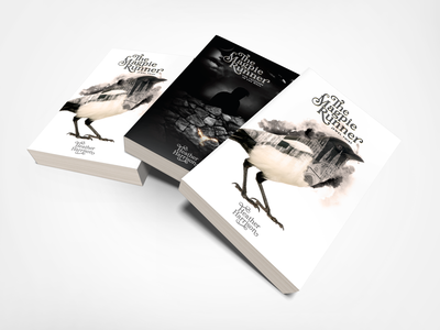 Magpie Runner Book Cover illustration graphic design book cover design book cover