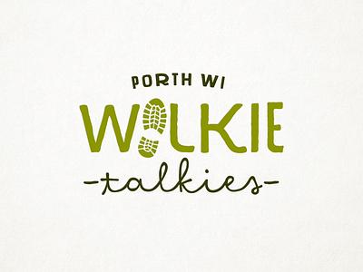 Walkie Talkies Logo branding logo
