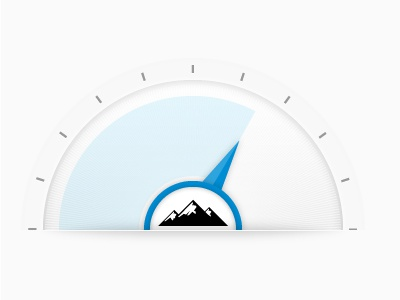Dial it up! dial white blue barometer