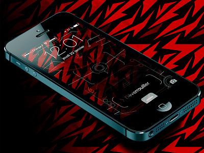 iphone5 Techy Lockscreen wallpaper ai wallpaper lockscreen iphone